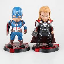 Anime Avengers Age Of Ultron Thor Captain America Egg Attack