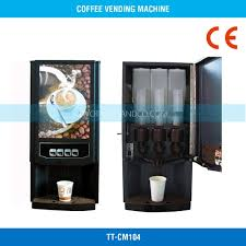 DiscontinuedBlack Adjustable Drink Flavor Commercial Coffee Vending Machine TT CM104