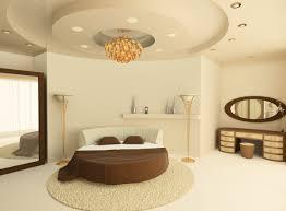 das schlafzimmer mit einem rundbett einrichten zuhause bei