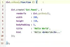 sencha ext js tutorial an introduction to ext js 5 codementor