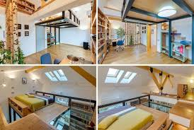 chambre avec lit mezzanine 2 places lit mezzanine 2 places 9 idées gain de place chambre adulte