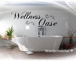 wandtattoo wellnessoase wellness oase bad schlafzimmer sauna wohnzimmer wandaufkleber viele farben größen