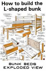 14 free bunk bed plans how to build a bunkbed