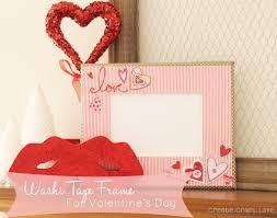 Halloween Washi Tape Ideas by Washi Tape Frame For Valentine U0027s Day