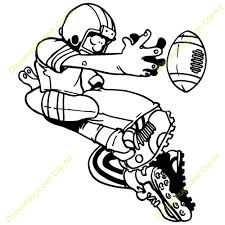 football player tackled