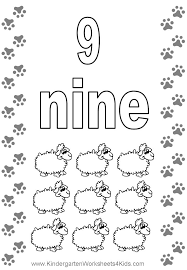 Cozy Design Number 9 Coloring Pages Easy To Make Page 11 Pics Of Nine