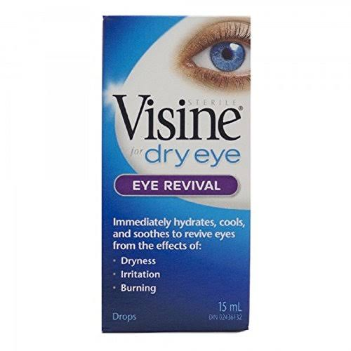 Visine for Dry Eyes Eye Revival Drops - 15ml