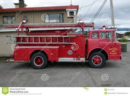 An Old Ford Firetruck Editorial Stock Image. Image Of Rubber - 45175794