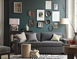 bilderrahmen dekorieren wohnzimmer grün freshouse