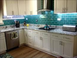 blue green glass tile backsplash kitchen glass tile clear glass