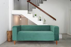 Klippan Sofa Cover 4 Seater by Tufting Klippan Hack Be Emerald Green With Envy