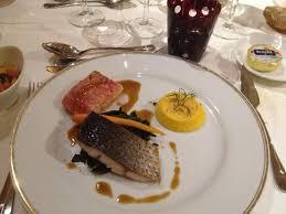 cuisine bar poisson duo de poisson saumon et bar picture of l aigle d or croissy