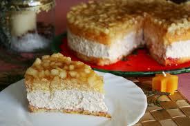winterliche apfel schmand torte