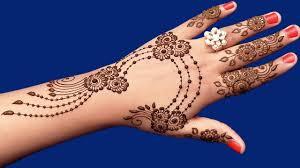 ज्वेलरी ठेहंदी डिजाईन Latest Mehndi Designs For