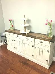 Kitchen Sideboard Buffet Unfinished Sideboards Wood