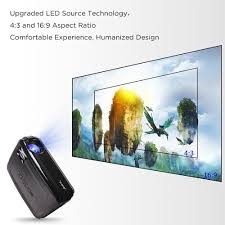 irulu p6 5 8 led home cinema theater android 6 0 projector 3000 1