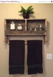 Elegant 10 Diy Great Ways To Upgrade Bathroom Wood Pallet Furniture Rustic Shelves Ideas