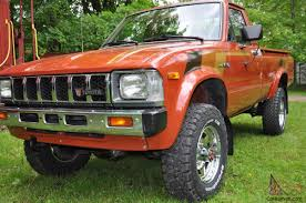 100 1983 Toyota Truck Other SR5 Standard Cab Pickup 2Door EBay