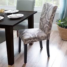 Kirklands Dining Chair Cushions by Black U0026 White Medallion Parsons Chair Kirklands