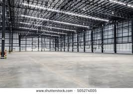 Interior Empty Warehouse Stock Shutterstock