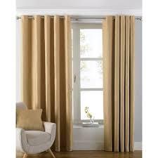 vorhang set striplin mit ösen blickdicht wayfair basics größe pro vorhang 117 b x 137 h cm farbe ockergelb
