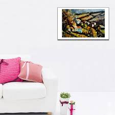 2019 Unframed Black Love Kiss Canvas Painting Abstract Print Poster