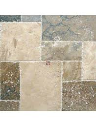 Versailles Tile Pattern Travertine by Tuscany Imperium Versailles 16 Sq Ft Pattern Travertine Tile