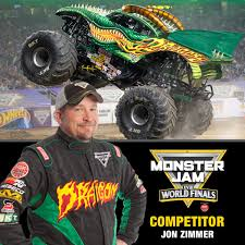 Monster Jam Driver Jon Zimmer (Grave Digger) - The Grueling Truth
