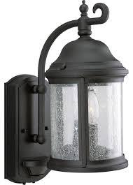 outdoor wall light fixtures motion sensor gama sonic barn