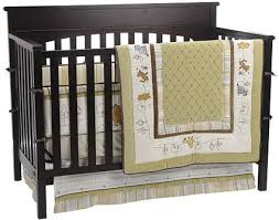 classic winnie the pooh 4 piece crib bedding set by kidsline