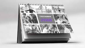 calendrier de bureau personnalisé calendrier mural personnalisé avec photo flexilivre