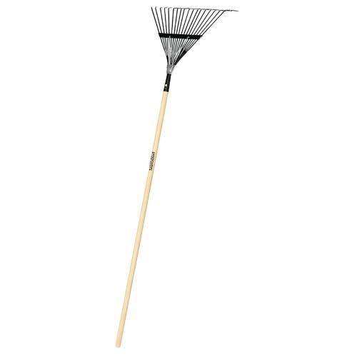 "Landscapers Select Lawn Leaf Rake - 18 Tine, 48"" Handle"