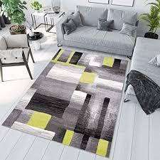 tapiso jawa teppich kurzflor modern teppiche in grau weiss grün bunt mehrfarbig mit abstrakt streifen linien muster perfekt für wohnzimmer