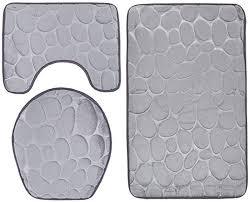 set aus teppich und karpetten für badezimmer mit wc