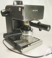 Mr Coffee Steam Espresso Cappuccino Maker BVMC ECM260