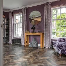 Laura Ashley Mr Jones Charcoal Floor Tile 331x331cm