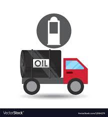 100 Gasoline Truck Tank Truck Oil Gasoline Pump Royalty Free Vector Image