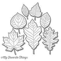 Die namics Falling Leaves