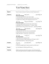 Resume For Hotel Jobs Housekeeping Job Description Sample