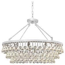 10 light glass and chandelier 32in diameter
