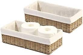 hosroome badezimmer aufbewahrungskorb aufbewahrungskorb für toilettenpapierkorb dekorativer korb für schrank schlafzimmer badezimmer