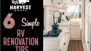 15 Great Renovation Ideas To 6 Easy Rv Renovation Ideas Unique Rv Cing With Harvest