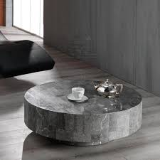 Coffee Table Contemporary Round Coffee Table Round White Wood