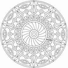 Free Mandala Coloring Pages 19 Printable Back To