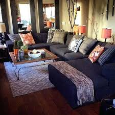 Living Spaces Sectionals Group Therapy Transitional Living Room
