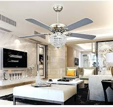 Dining Room Ceiling Fans With Lights Crystal Chandelier Fan Led Invisible 1