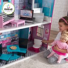 KidKraft 18-Inch Breanna Dollhouse, Dollhouses - Amazon Canada Kidkraft Darling Doll Wooden Fniture Set Pink Walmartcom Amazoncom Springfield Armoire Journey Girls Toysrus 18 Inch Clothes Drses Our Generation Dolls Wardrobe Toys For Kashioricom Sofa Armoire Kidkraft Next Little Kidkraft 18inch New Littile Top Youtube Chair And Shop Baby Here
