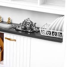 1 12 puppenhaus küche möbel cfridge tisch stuhl modell