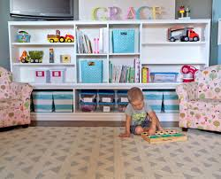 ana white toy storage hutch with cubbies and shelves diy projects