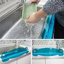 amazon com kitchen sink water splash guard kitchen dining